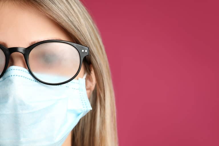 How to Prevent Foggy Glasses When You Wear a Mask